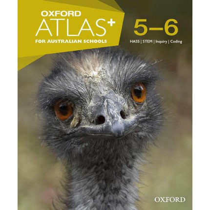 Oxford Atlas+ for Australian Schools Years 5-6