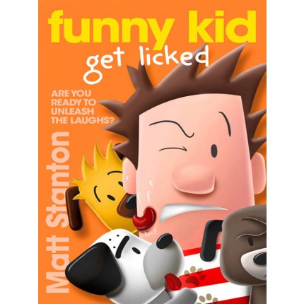 Funny Kid Get Licked