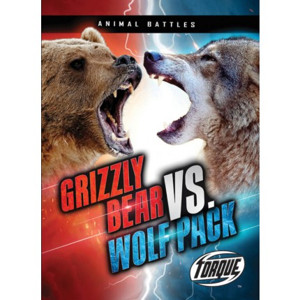 Animal Battles - Grizzly Bear VS Wolf Pack