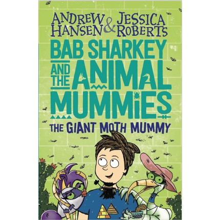Bab Sharkey and the Animal Mummies - The Giant Moth Mummy