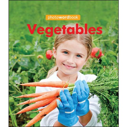 Photo Word Book - Vegetables