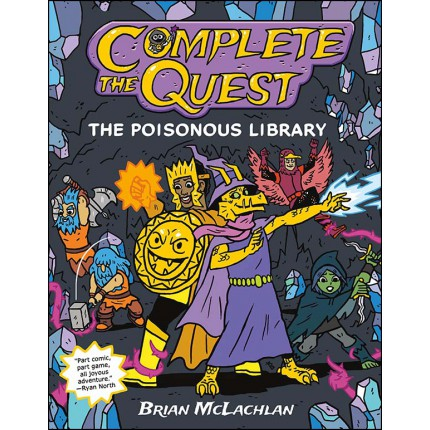 Complete the Quest - The Poisonous Library