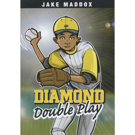 Jake Maddox Boys Sports Stories - Diamond Double Play