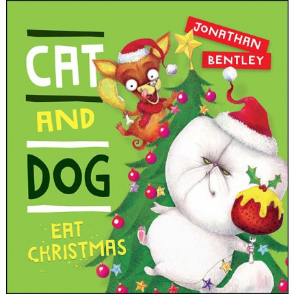 Cat and Dog Eat Christmas