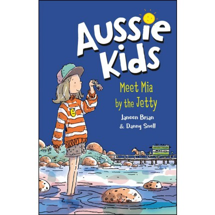 Aussie Kids - Meet Mia by the Jetty
