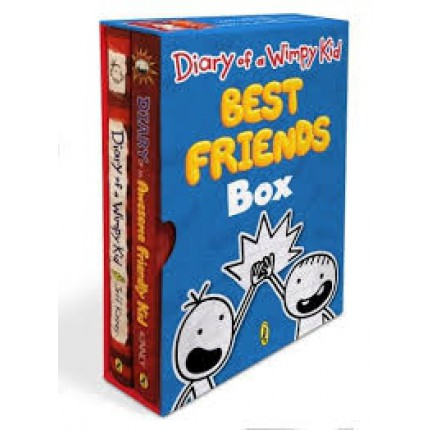 Diary of a Wimpy Kid Best Friends Box- Diary of a Wimpy Kid, Book 1 and Diary of an Awesome Friendly Kid