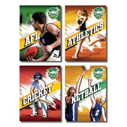Great Aussie Sports - 4 Pack